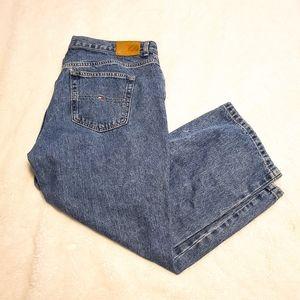 Tommy Hilfiger High Waist Boyfriend Wide Leg Jeans